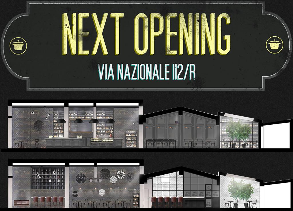la cocotte next opening via nazionale 112/r